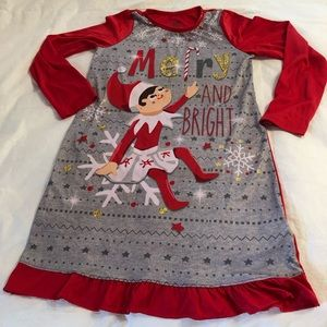 Elf on a Shelf Merry and Bright Nightgown